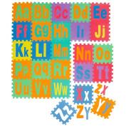 Multicoloured Puzzle Mat For Kids Play Area | Interlocking Eva Foam Mats | Play