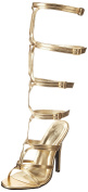 Ellie Shoes Women's 510 Sexy Gladiator Sandal, Gold, 7 M US