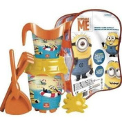 Cubo Playa Minions Regadera Moldes - 18cm Bucket Set Summer Beach Garden