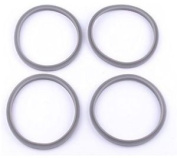 4x Replacement Rubber Seal Ring Fits Nutri Bullet Gaskets Extractor Milling P…