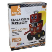Grafix Science Worx Balloon Robot - Age 5 + Christmas