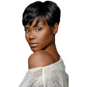 Natural Black Hair Wig Short Wigs for Black Women Pixie Cut Wigs for Women Heat Resistant Synthetic Female Wig Cosplay Fake Hair
