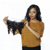 GEM Hair . Brazilian Loose Wave Hair Lace Frontal with Baby Hair Unprocessed Virgin Hair Loose Body Wave Frontal 1PC 30cm