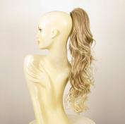 Hairpiece ponytail long wavy light blond wick very light blond 65cm ref 6/15t613 peruk