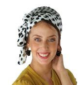 Sara Attali Design TieTie Headscarf TICHEL One Size Black/White