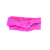 Kitsch Braided Knot Head Wrap, Coral