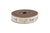 It's The Thought That Counts' 5m Spool Glitter Ribbon