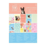 DoCrafts Papermania Paws For Thought Pet-Themed Ultimate Die-Cut & Paper Pack 48-Sheets A5 Card Kit