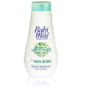 BABI MILD Ultra Mild Organic Moisturiser Baby Powder For New Born Size 150 g.