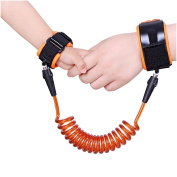 Child Anti Lost Wrist Link, Child Harness Belt,Steel Wire and Cotton Wrist Strap Wrist Leashs