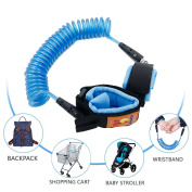 HappyHomey Anti Lost Wrist Link Safety Hook and loop Wrist Link for Toddlers, Babies & Kids