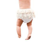 Newborn Baby Shorts, TRENDINAO Newborn Baby Toddler Infant Babys Tassel Girls Ruffle Bloomers Nappy Cover Pants (6 Months
