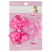 INFANT 2PC GLITTER HEADWRAP SET
