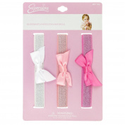 INFANT 3PC GLITTER HW W/ BOW