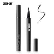 MAANGE Black Liquid Waterproof Long-Lasting Makeup Fast Dry Eyeliner Pen