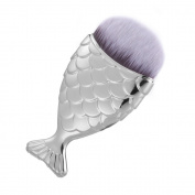 XCSOURCE Fish Scale Makeup Brush Fishtail Bottom Brush Foundation Powder Blush Makeup Cosmetic Brush MT502