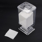 Nail Art Polish Remover Cotton Pad Holder Case Container