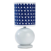 Happy Chic Baby by Jonathan Adler Taylor Lamp & Shade, Navy/Grey/White