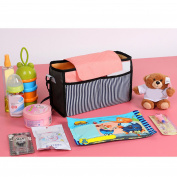 Kangkang@ Universal Baby Stroller Pram Pushchair Large Capacity Cup Bottle Cloth Nappies Holder Organiser Hanging Storage Bag Pouch