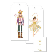 C.R. Gibson Jumbo Gift Tags 4 Each of 2 Designs, Sugar Dreams