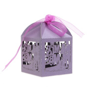 cici store 10Pcs Mr Mrs Candy Boxes Wedding Engagement Party Favour Gift