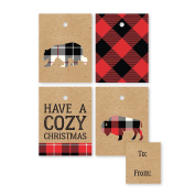 C.R. Gibson Gift Tags, Rustic Treat