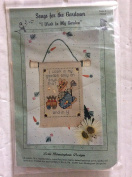 Lorri Birmingham Designs I Work in My Garden Cross Stitch Kit 22204