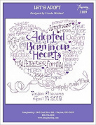 Let's Adopt (Model No. 3109) Cross Stitch Kit and Free Embellishment