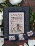 Liberty Notes Cross Stitch Chart and Free Embellishment