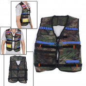 Adjustable Tactical Vest Jacket For 12 Darts Gun Accessories Nerf N-strike Toys