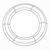 Metal Wire Wreath Frame 30cm - Green