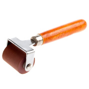MyLifeUNIT Rubber Brayer, Brayer Ink Roller, Soft Rubber Brayer Roller with Wooden Handle
