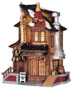 Lemax Porcelain Lighted House Village Lucy'S Chocolate Shop 23cm H X 24cm