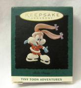 Hallmark Babs Bunny Tiny Toon Adventures Miniature Keepsake Ornament Handcrafted 1994 #04116