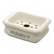 Dr Harris & Co Burleigh Earthenware Two Piece Soap Dish