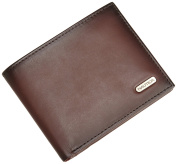 Nautica Men's Crunch Passcase Wallet with Removable Card Case