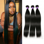Beauty Show Hair Virgin Brazilian Natural Straight Human Hair Weave Extension Unprocessed straight hair 3 bundles
