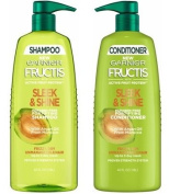 Garnier Fructis Shampoo & Conditioner Set Sleek & Shine, 1180ml Each