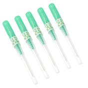 Black Menba Pack of 5 Catheter Piercing Needles Tattoo Piercings Tool