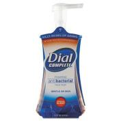 Dial Complete - Antimicrobial Foaming Hand Soap, Original Scent, 220ml Pump Bottle - 8/Carton ES