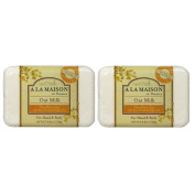 A La Maison de Provence Oat Milk Hand and Body Soap (Pack of 2) With Shea Butter, Argan Oil and Coconut Oil, 260ml Each