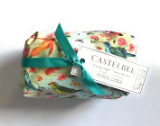Castelbel Jasmine Flower Fragranced Portugal Imported Bath Bar Soap 310ml Wrapped In Bird Decorative Paper