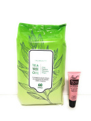 "TruBeauty Facial Wipes Normal to Dry Skin 6o Wipes ""Free Starry Lip 10ml"""