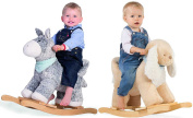 Kaloo Les Amis Rocking Horse Rocker Dog/donkey Baby/toddler Plush Toy Bnib
