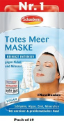 Schaebens Dead sea Mask - Pack of 10