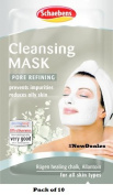 Schaebens Cleansing Mask - Pack of 10