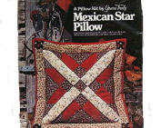 Yours Truly Mexican Star Pillow making Kit