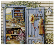 Flower House counted cross stitch kits 400x332 stitch 82x70cm counted cross stitch kits