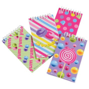 Candy Notebooks (24 Count)