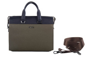 Folder PIERRE CARDIN bag office professional blue in leather Made in Italy VH30